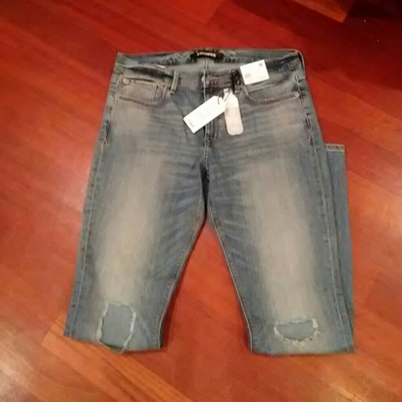 Express Eco Friendly Mid-Rise Stretch Jean…